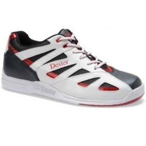 Dexter Bowling shoes Jeff II white and black